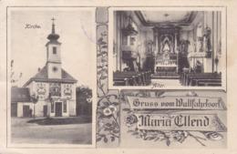 Maria Ellend (Haslau) *  Wallfahrtskirche, Altar, Mehrbild * Österreich * AK1535 - Bruck An Der Leitha