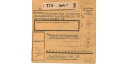 Colis Postal  / De Berlin - Deutschland