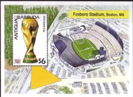 Soccer World Cup 1994 - Football - ANTIGUA & BARBUDA - S/S MNH - World Cup