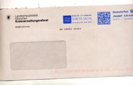 Lettre Flamme Frankit  Exposition Gunter Sachs - Marcophilie - EMA (Empreintes Machines)