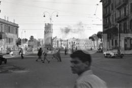 1961 STREET SCENE CAIRO EGYPT ARABIC REGION  AMATEUR 35mm ORIGINAL NEGATIVE Not PHOTO No FOTO - Photography