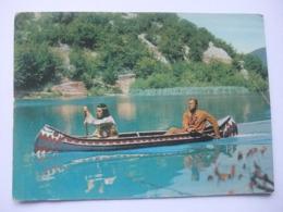 N23 Ansichtkaart Winnetou - Lex Barker En Pierre Brice - Artistes