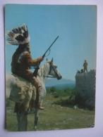 N23 Ansichtkaart Winnetou - Lex Barker En Pierre Brice (2) - Artiesten