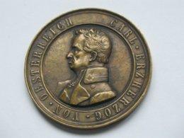 Médaille CARL ERZHERZOG VON OESTERREICH 22 MAI 1860  **** EN ACHAT IMMEDIAT **** - Monarchia/ Nobiltà