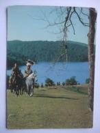 N23 Ansichtkaart Winnetou - Lex Barker En Pierre Brice (3) - Artiesten