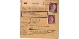 Colis Postal  / De Leipzig - Deutschland