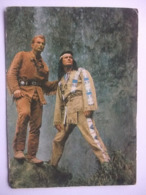 N23 Ansichtkaart Winnetou - Lex Barker En Pierre Brice (4) - Artistes