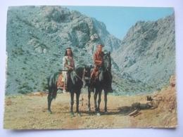 N23 Ansichtkaart Winnetou - Lex Barker En Pierre Brice (7) - Artiesten