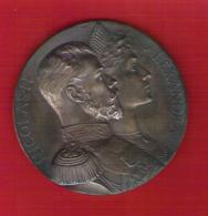 Superbe Médaille En Bronze Visite Du Tsar De Russie Nicolas II à La Monnaie De Paris Le 7 Octobre 1896 Dans Son écrin - Other
