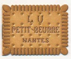 BISCUITS LEFEVRE-UTILE - PETIT CALENDRIER 1951 - (DIM 7 X 5.5) - Calendars