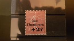 """TIMBRE DE FRANCE N° 250 , CAISSE D' AMORTISSEMENT """"NEUF TRACE DE CHARNIERE"""" - France"""