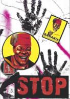 CPM Timbre Monnaie Siné Par Jihel Tirage Limité En 30 Exemplaires Numérotés Signés Banania Négritude Colonialisme - Monnaies (représentations)