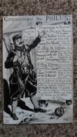CPA COMMUNIQUE DES POILUS TRANCHEE DE 1 ERE LIGNE PROGRAMME DES KURSES  GUERRE 14 18 MARNE CALAIS ARRAS - Weltkrieg 1914-18