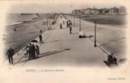 CP 76 Seine Maritime Dieppe Le Boulevard Maritime 107 ND - Dieppe