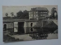 Début 1900 CP Ath Le Pont Du Chemin De Fer Edit De Graeve N° 435 - Ath