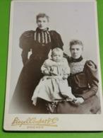 Photo Original, Siegel Coopert, Chicago - Ancianas (antes De 1900)