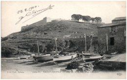 83 SAINT-TROPEZ - Anse De La Ponche Et La Citadelle - Saint-Tropez