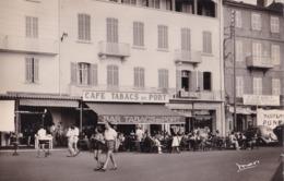 SAINT-TROPEZ - Le Quai, Café-Tabacs Du Port - Saint-Tropez