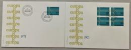 1971 FDC Europamarke MiNr: 545 - Liechtenstein