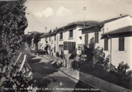 PRATOLINO-FIRENZE-VIA BOLOGNESE RISTORANTE=ZOCCHI=-CARTOLINA VERA FOTOGRAFIA- VIAGGIATA IL 24-7-1957 - Firenze