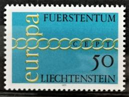 1971 Europamarke Postfrisch** MiNr: 545 - Liechtenstein