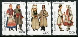 BELARUS 1997 Regional Costumes MNH / **.  Michel 227-29 - Belarus