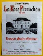 11989 - Château La Rose Perruchon 1979 Lussac Saint Emilion - Bordeaux