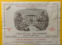 11991 - Château Reysson 1983 Haut Médoc - Bordeaux