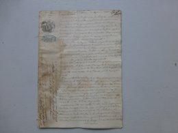 BROUAGE 1848, TOP NOBLESSE Procès Fr De Richelieu Pour Terres Du Maréchal Richelieu, 1642 ; Ref 826 ; PAP09 - Documents Historiques