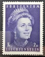 1971 Fürstin Gina Postfrisch** MiNr: 544 - Liechtenstein