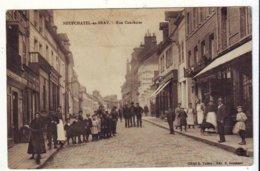 Cpa  Neufchatel En Bray  Rue Cauchoise - Neufchâtel En Bray