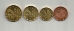 Nouvelle émission Monnaie € EURO ANDORRA, 2018. (5c,10c,20,50c). 5c & 10c  Difficile à Trouver (very Hard To Find). Mint - Andorre