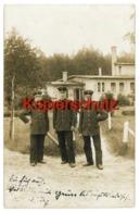 Soldaten Vor Dem Casino In Lissa 1912 - Nach Neuendorf Bei Reppen / Neumark - Kasernen