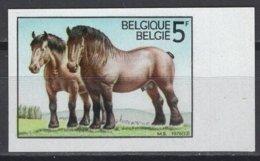 Belgique. 1976 COB N° 1810 ND. Cote 2018 : 11 € - Non Dentelés