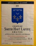 11997 - Château Smith Haut Lafitte 1979 Graves - Bordeaux