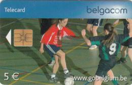BELGIUM - Football En Salle, Exp.date 31/07/06, Used - Sport