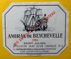 12000  - Amiral De Beychevelle 1984 Saint-Julien - Bordeaux
