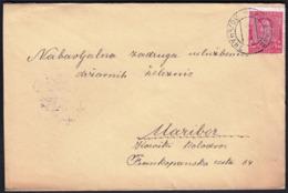 Yugoslavia Slovenia Poljcane 1934 / Sent To Maribor / 1.50 D / King Alexander - Covers & Documents