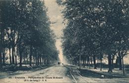 I134 - 38 - GRENOBLE - Isère - Perspective Du Cours Saint-André - Grenoble