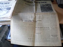 Novo Vreme Beograd 1943 WW2 Serbian Okupation - Boeken, Tijdschriften, Stripverhalen