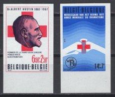 Belgique. 1977 COB N° 1840/41 ND. Cote 2018 : 25 € - Non Dentelés