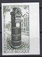 Belgique. 1977 COB N° 1852 ND. Cote 2018 : 12.50 € - Non Dentelés