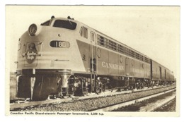 Z06 - Canadian Pacific Diesel-electric Passenger Locomotive - Trains