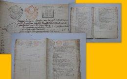 BOUTHET-du-RIVAUD Jean Baptiste, 1800, Relevé Procès, TB Timbres Fiscaux REVOLUTION (Vienne)  ; Ref 823 ; PAP09 - Historische Dokumente