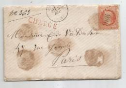 JURA - CHAUSSIN - GC.986 S/TP Napoleon III N°31 - CHARGE - Càd T.16 -  1869 - 1863-1870 Napoleon III With Laurels
