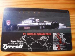 Phonecard Japan 110-108504 Car Race - Japan