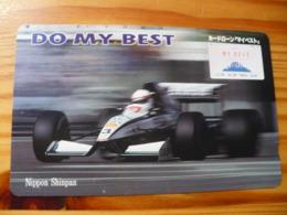 Phonecard Japan 110-116403 Car Race - Japan