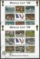 ST.VINCENT - MNH - Sport - Soccer - World Cup - France 1998 - World Cup
