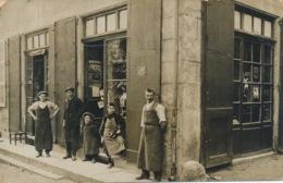 I135 - 38 - VINAY - Isère - Carte Photo - Grande Rue - Le Cordonnier - Vinay
