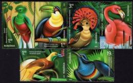 Romania - 2019 - Exotic Birds - Mint Stamp Set - 1948-.... Repúblicas